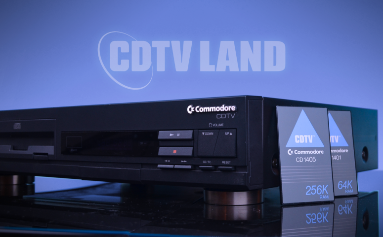 CDTV-C1000-with-memory-cards-CD1401-CD1405-C